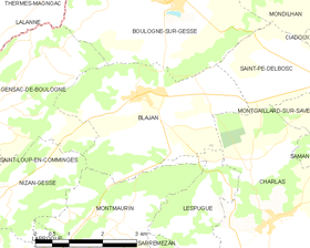 Map commune FR insee code 31070.png