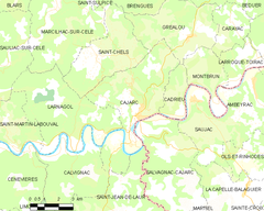 Map commune FR insee code 46045.png