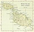 Map of Malta, The Encyclopedia britannica, 1892.jpg