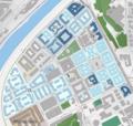 Map of Testaccio, Roma - Urban development, 1883 - 1930.png