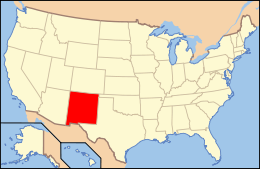 Map of USA NM.svg