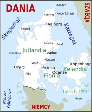 Półwysep Jutlandzki Wikipedia Wolna Encyklopedia