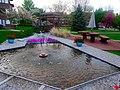 Maple Wood Apartments Fountain 2 - panoramio.jpg