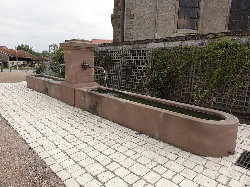 Marainviller (M-et-M) fontaine