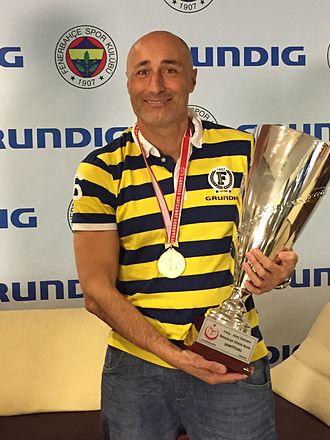 Marcello Abbondanza - Marcello Abbondanza at the 2015 Turkish Cup Finals