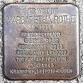 Margaretha Rothe - Heidberg 64 (Hamburg-Winterhude).Stolperstein.nnw.jpg