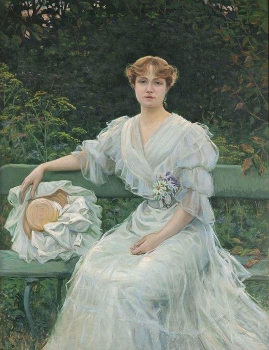 Marguerite Durand par Jules Cayron
