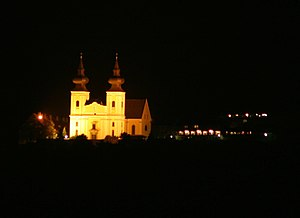 Maria Taferl - The Maria Taferl Basilica at night