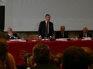 Il Governatore della Banca d'Italia Mario Drag...