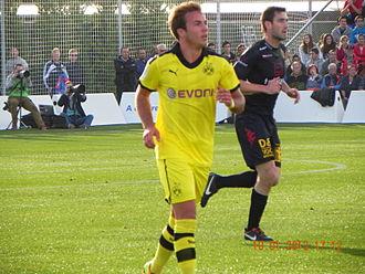Mario Götze - Götze with Borussia Dortmund in 2013