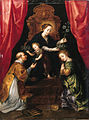 Marten Pepijn - Madonna and Child adored by St Lawrence and St Martha.jpg