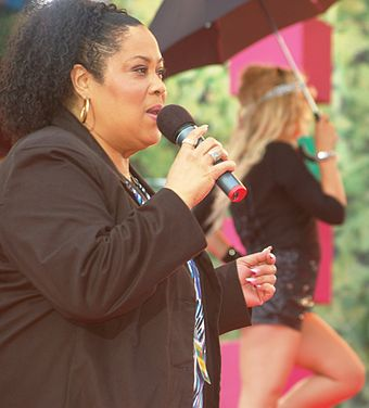 "American singer Martha Wash is most often identified as the ""Queen of Clubland"". Martha Wash.jpg"