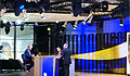Martin Schulz et Salima Ghezali - Émission Bar de l'Europe (2015).JPG