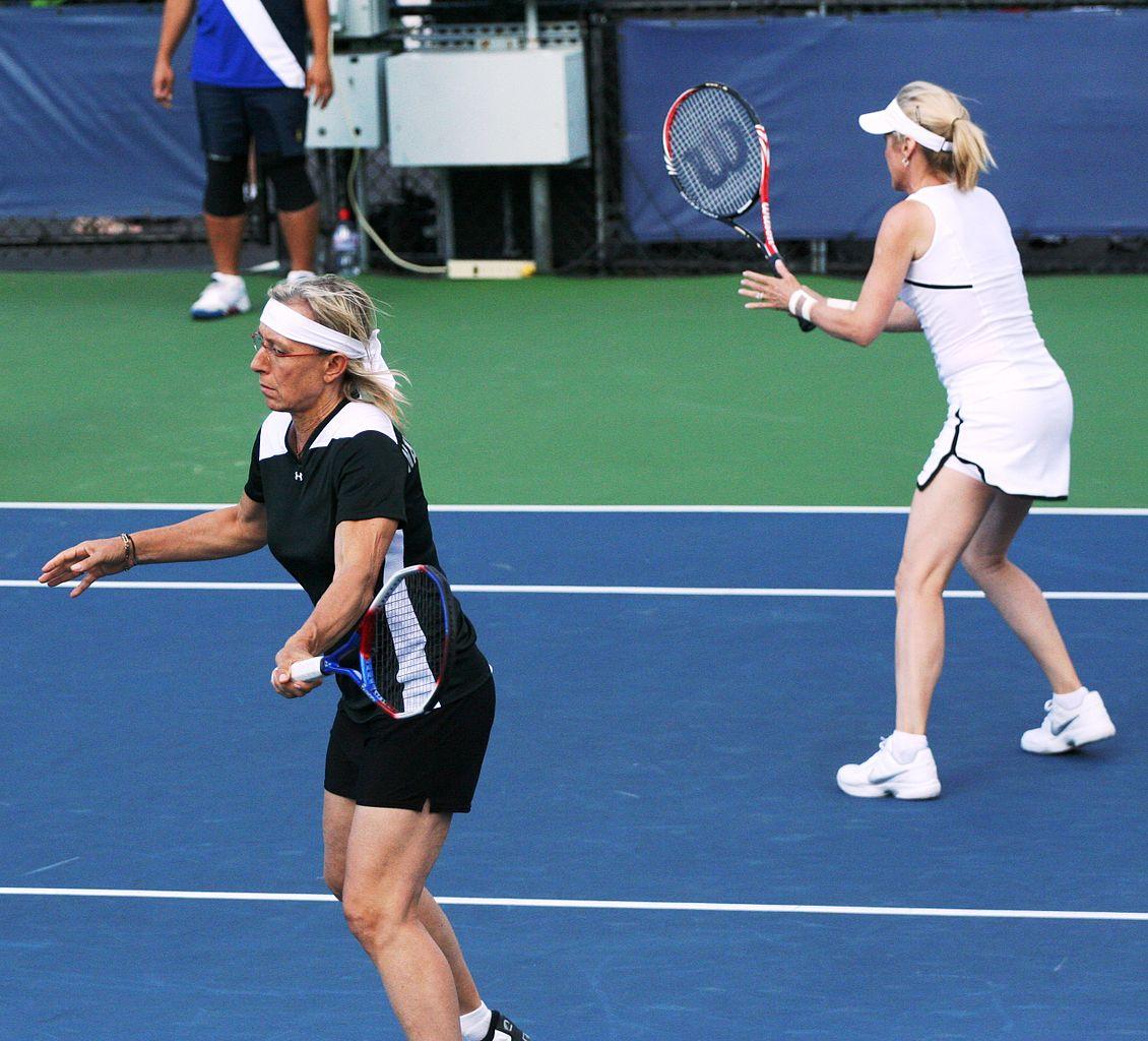 File Martina Navratilová & Tracy Austin at the 2010 US Open 02