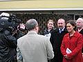 Mary Lou McDonald and Nicky Kehoe Sinn Fein.JPG