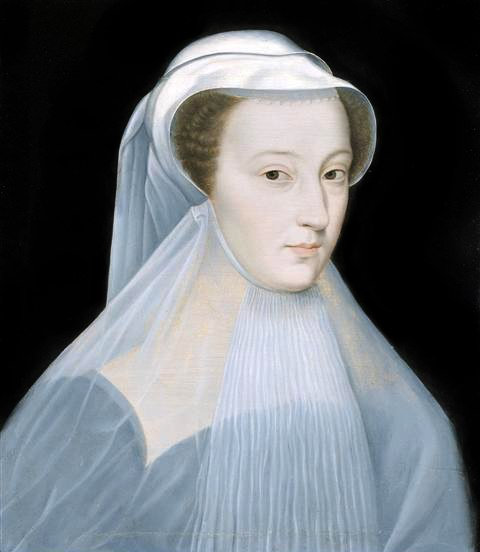 Mary Queen of Scots in mourning