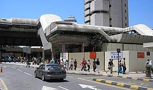 Masjid Jamek LRT station - Image: Masjid Jamek station (Ampang Line) (exterior), Kuala Lumpur