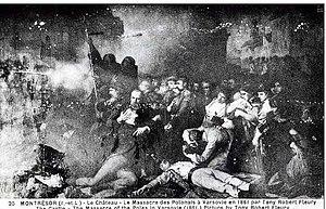 Tony Robert-Fleury - Image: Massacre de Varsóvia 1861 Tony Robert Fleury
