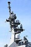 Mast of JS Atago(DDG-177) right side view at JMSDF Maizuru Naval Base April 13, 2019.jpg