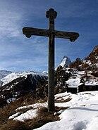 Matterhorn Herbrigg oberhalb Zermatt