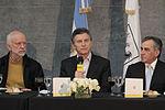Mauricio Macri compartió un almuerzo con intendentes de todo el país (7945706924).jpg