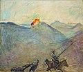 Max Slevogt Don Quichote und Sancho Pansa 1917.jpg