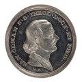 Medalj med Samuel Ödman i profil, 1837 - Skoklosters slott - 99406.tif