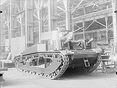 Vickers Medium Mk III w fabryce