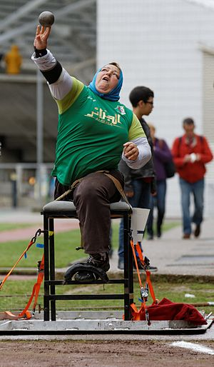 Algeria at the Paralympics - Nadia Medjemedj Won a gold medal and four bronze medals in three paralympics games