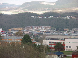 Melhus - View of Melhus sentrum
