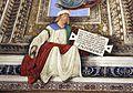 Melozzo da forlì, angeli coi simboli della passione e profeti, 1477 ca., profeta zaccaria 01.jpg