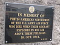 Memorial to USAAF servicemen, North Cheshire Trading Estate, Wirral, England (2).JPG