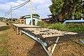 Mempakad Sabah Drying-fishes-in-Kg-Mempakad-01.jpg