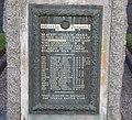 Mennock, Dumfries & Galloway - view of plaque on WWI memorial.jpg