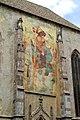 Merano, Affresco sulla parete esterna del Duomo. - panoramio.jpg