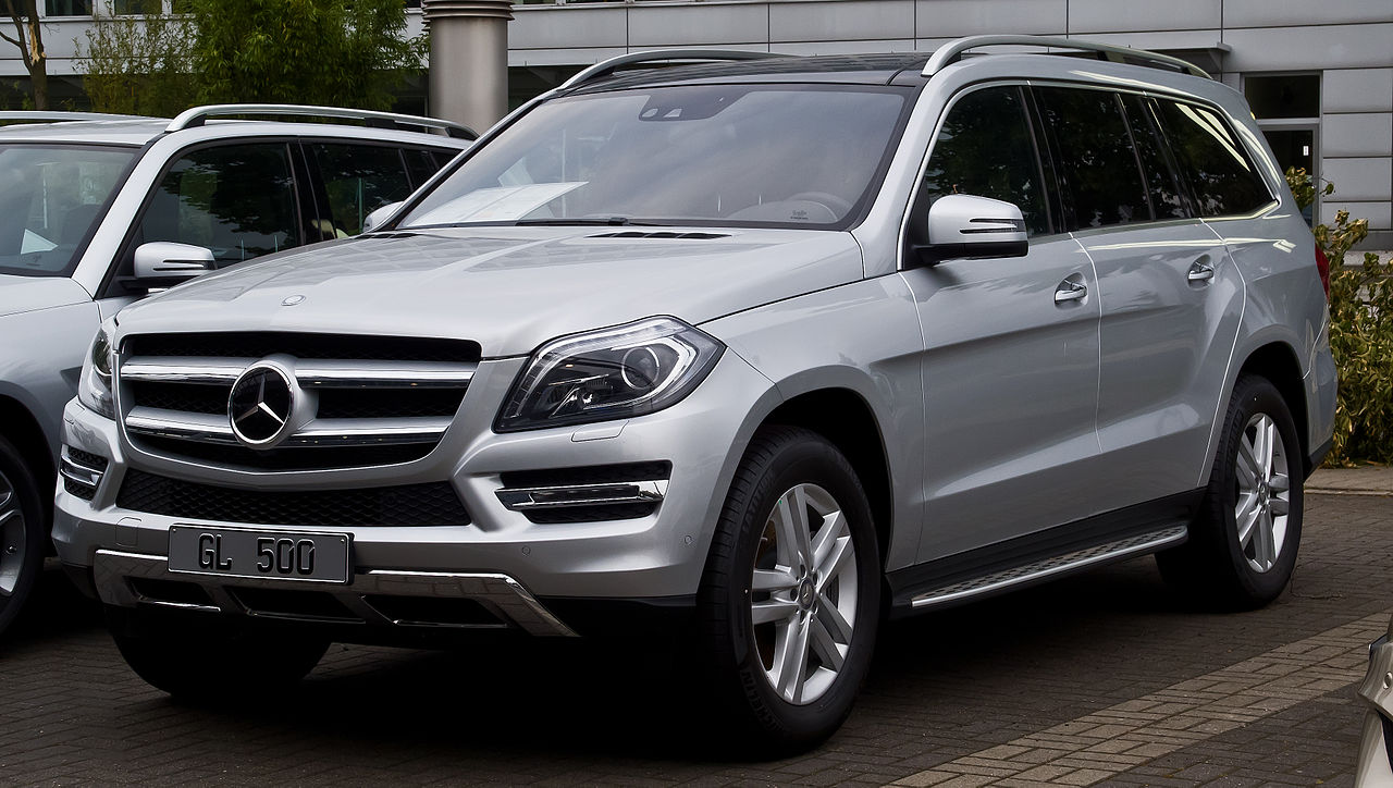 File Mercedes Benz Gl 500 4matic X 166 Frontansicht