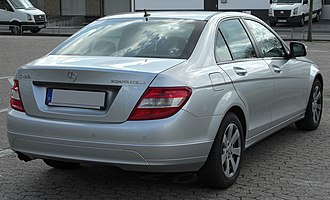 Mercedes-Benz C-Class - Pre-face-lift Mercedes-Benz C 200 CGI sedan