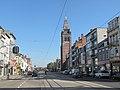 Merksem, straatzicht met kerk foto1 2011-10-16 12.50.JPG