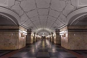 Sportivnaya (Moscow Metro) - Image: Metro MSK Line 1 Sportivnaya (img 1)