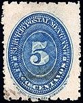 Mexico 1887 5c Sc194D used.jpg