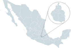 Mexico map, MX-DIF.svg