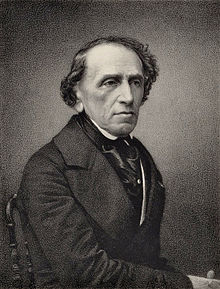 Giacomo Meyerbeer, engraving from a photograph by Pierre Petit (1865) (Source: Wikimedia)