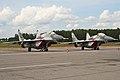 MiG-29SMT Fulcrums RF-92936 24 red & RF-92935 23 red (8510691465).jpg
