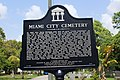 Miami City Cemetery Marker (19484180461).jpg