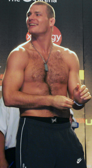 Michael Bisping - Bisping in 2007