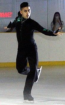 Michael Christian Martinez SM schaatsen a.jpg
