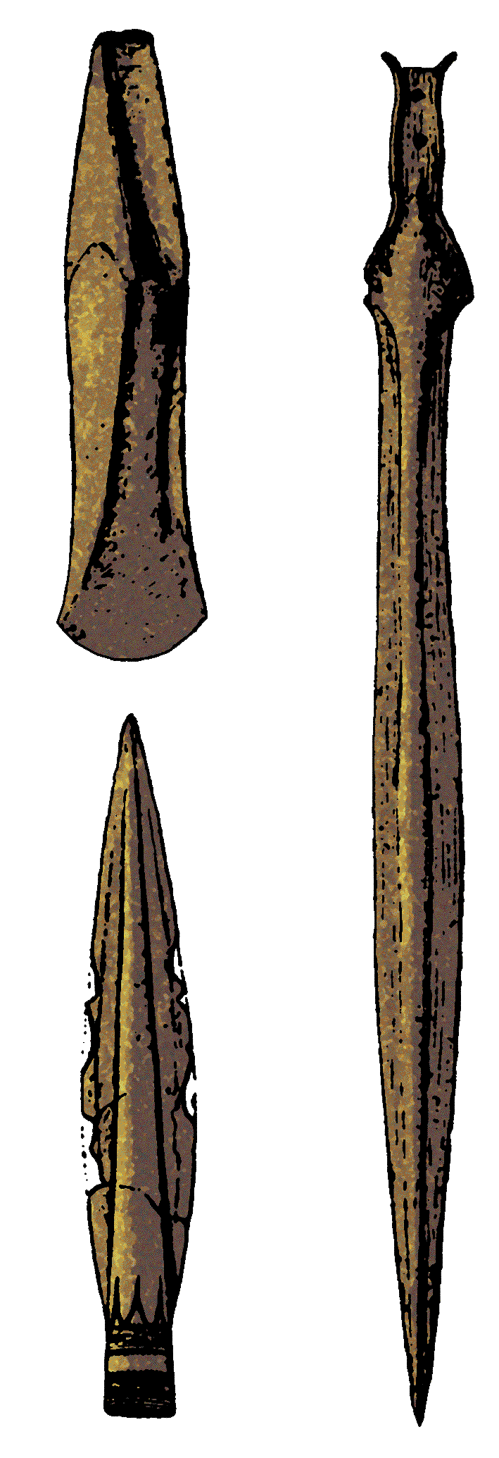 Middle Bronze Age weapons