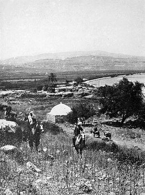 Migdal, Israel - Al-Majdal in 1909