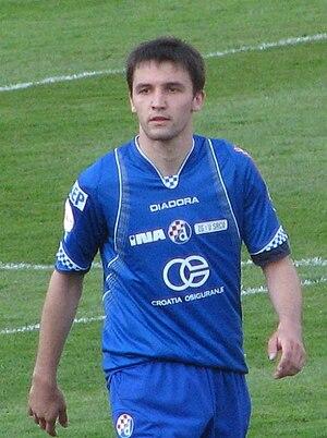 Milan Badelj - Badelj playing for Dinamo Zagreb in April 2009.