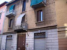 Via Gluck 14 (la casa natale di Adriano Celentano)